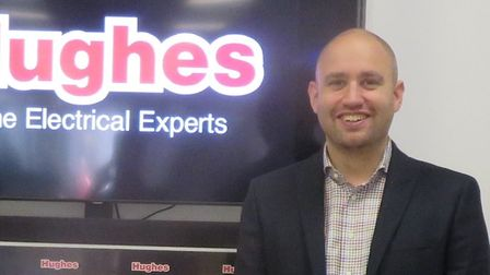 Wisbech-born Mark Wardell has been appointed CEO of Hughes Electrical after staring work at the Fenl