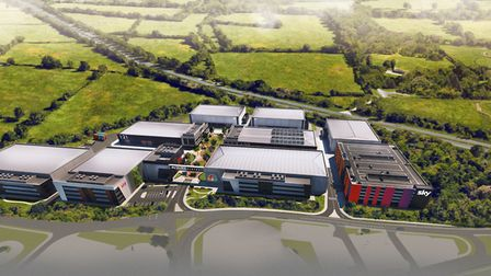 Sky Studios Elstree will bring more big screen productions to Hertfordshire. Picture: Sky