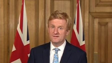 Hertsmere MP Oliver Dowden announced that number of recreational acitivities will be allowed, as loc