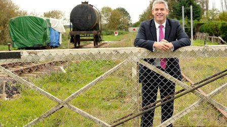 Few have campaigned longer and harder to restore the rail link from Wisbech to March than Steve Barc
