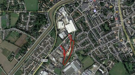 Site of proposed new Wisbech rail station
