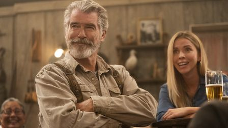 Pierce Brosnan as Erick Erickssong in Eurovision Song Contest: The Story of Fire Saga. Picture: John