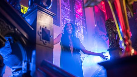 Swedish singer Loreen in Eurovision Song Contest: The Story of Fire Saga. Picture: Jonathan Olley/NE