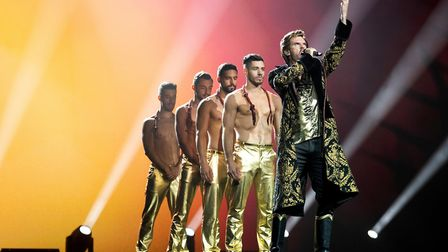 Dan Stevens as Alexander Lemtov in Eurovision Song Contest: The Story of Fire Saga. Picture: John Wi