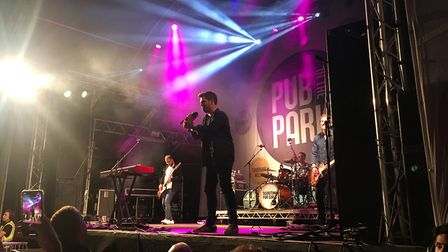 Scouting for Girls at Pub in the Park, St Albans. They are due to play this September's Pub in the P