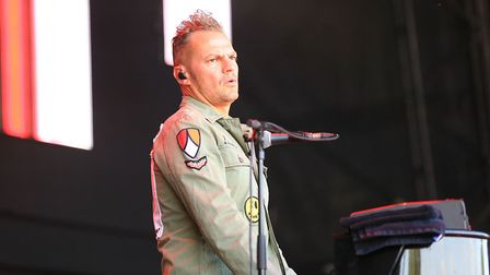 Toploader at Cool Britannia Festival 2018. The band will return to Knebworth for Pub in the Park's d