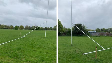 Wisbech Rugby Club are determined to send a strong message to those who caused damage to their rugby