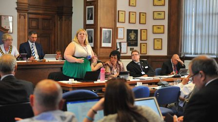 Cllr Sam Hoy, portfolio holder for housing at Fenland Council and 'absolutely committed to her prio