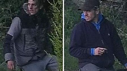 Two men wanted by police following a theft in Waterlees Road in Wisbech on Sunday, June 14 have you
