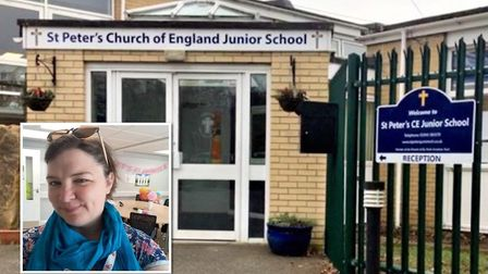 Amy Harvey of St Peter's Church of England Junior School which requires improvement, according to th
