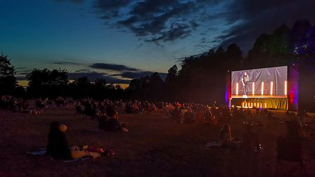 The Comedy Store show at The Screen Space in the grounds of Hatfield House. Picture: The Screen Spac