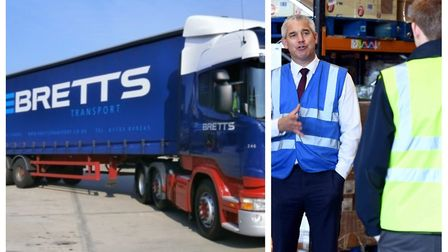 Bretts Transport Ltd. has been recognised for its work during the coronavirus pandemic by the HGV He
