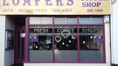 Loafers coffee shop in Wisbech