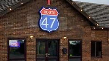 Route 47 at Thorney Toll