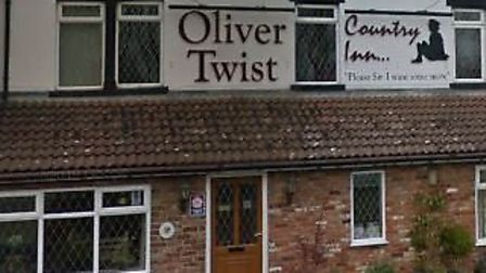 The Oliver Twist Country Inn and Restaurant at Wisbech St Mary