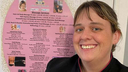 Mum-of-two Amy Baker (pictured) is fighting to keep her small Wisbech business alive amid the ongoin