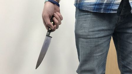 Hundreds of knives have been confiscated in Hertfordshire.