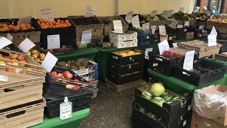 PYO Fruit and Veg Bags is now setting up its own market stalls across the Fens after delivering fres