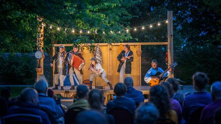 Three Inch Fools will be performing their three-hander version of Shakespeare's A Midsummer Night's