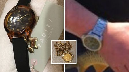 Do you recognise this? Jewellery worth around 1,400 was stolen from a home in Mouth Lane, Guyhirn on