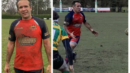 Gerhard Wessels (left) has been named as head coach of Wisbech Rugby Club, and will be assisted by M