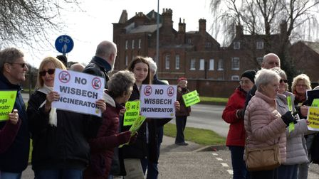 Rallies and protests have been organised in Wisbech since the scheme was revealed. Members of Wisbec