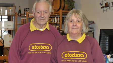 Etcetera Wisbech. Ray and Jan Wicks. Picture: Steve Williams.