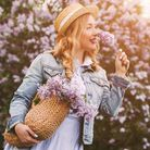 Make the most of your summer evenings with a light-weight denim jacket. Picture: Getty Images