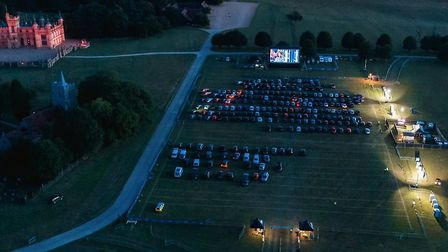 The Luna Drive-In Cinema at Knebworth House is set to screen Bohemian Rhapsody and The Greatest Show