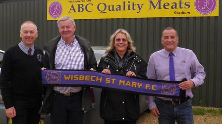 Wisbech St Mary FC have named their new stadium sponsor for the next two seasons after their three-y