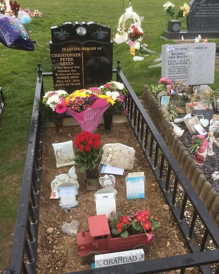 Reports have circulated on social media of sentimental items being stolen from graves across Fenland