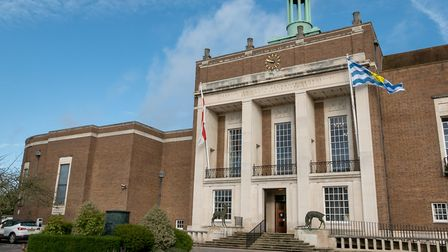 Hertfordshire County Council offices, Hertford. Picture: DANNY LOO