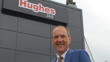 Hughes Electrical will reopen its Wisbech store on August 3. Chairman Robert Hughes is pictured. Pic