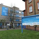 At West Hertfordshire NHS Hospitals Trust which operates Watford General Hospital (pictured) 34 pe
