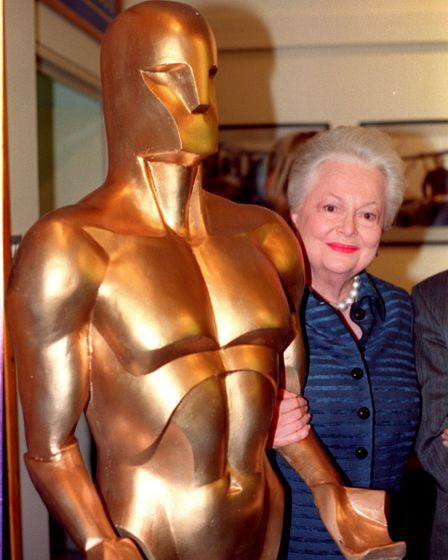 Gone With The Wind actress Dame Olivia de Havilland in 1998. Picture: Rosie Hallam/PA Wire