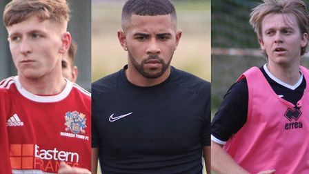 Danny Draper, Andre Williams and Ryan Pearson have joined Wisbech Town ahead of the 2020-21 season.