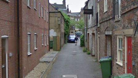 Police were called to two incidents in Oil Mill Lane, in Wisbech, this weekend. Pictures: Google Str