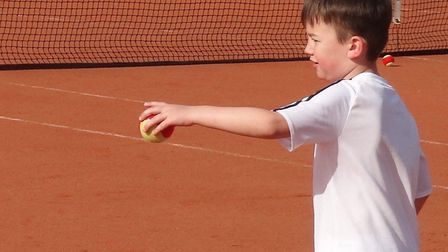 Wisbech Tennis Club is offering new and existing young players lessons through August. Picture: WISB