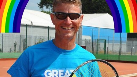 Gary Fitzjohn will be offering free lessons for NHS staff and other key workers at Wisbech Tennis Cl