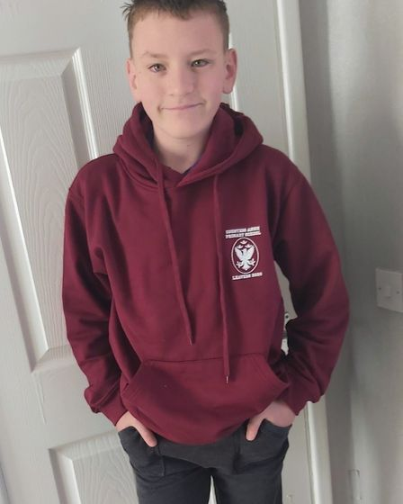 "Harvey Carr-Drake, who is leaving Year 6 at Countess Anne School in Hatfield. He said: ""To my amazin"