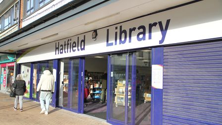 The new Hatfield Library at White Lion Square. Picture: HCC.
