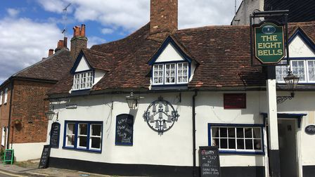 The Eight Bells in Hatfield. Picture: Charlotte McLaughlin