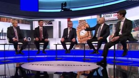 The moment in June this year when Sajid Javid invited fellow Tory party leadership candidates to com