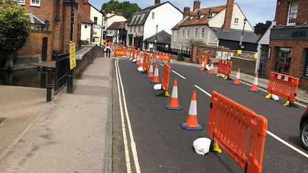 Welwyn High Street has been running as a one way system since May. Picture: Colin Johnson