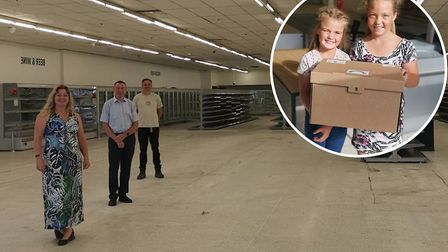 Cambridgeshire Community Reuse & Recycling Network has moved into the mothballed Budgens store at th