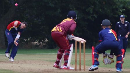 Ant Palmer recorded figures of 1-30 against March. Picture: DAN MASON