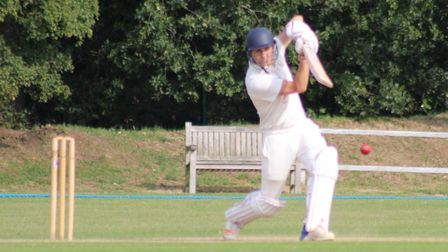Tom Vits had a good weekend for Datchworth. Picture: WILL NASH
