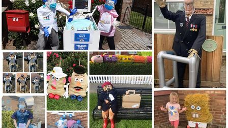 Here are some of the Emneth scarecrow competition entries you have submitted. Pictures: Submitted