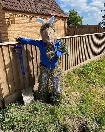 Peter Rabbit by the Beckett's, (Woodgate house, Hollycroft Road).