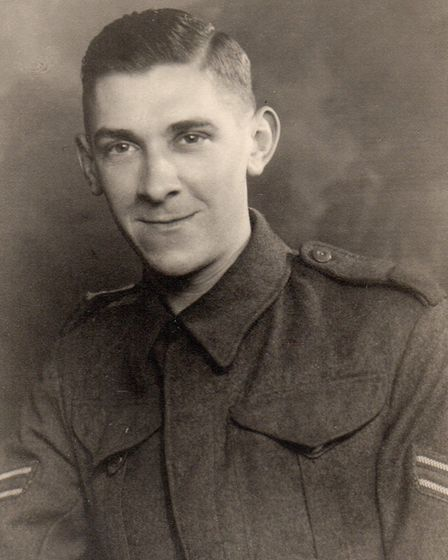 Corporal Kenneth Charles Harnwell in uniform. Picture: FAMILY